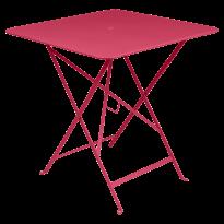TABLE PLIANTE BISTRO 71 X 71CM ROSE PRALINE de FERMOB
