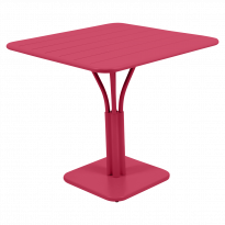 TABLE CARRÉE LUXEMBOURG 80x80 cm, Rose praline de FERMOB