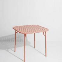Table carrée WEEK-END de Petite Friture, Blush