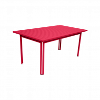 TABLE 160 X 80 COSTA Rose praline de FERMOB