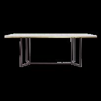 TABLE DE REPAS HORIZON, Blanc de RED EDITION