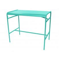 TABLE HAUTE LUXEMBOURG 73x126 cm, Bleu lagune de FERMOB