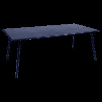 TABLE MONCEAU, 194X94X74 BLEU ABYSSE de FERMOB