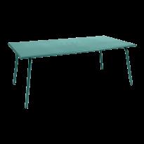 TABLE MONCEAU 194X94X74 BLEU LAGUNE de FERMOB