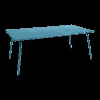 TABLE MONCEAU 194X94X74 BLEU TURQUOISE de FERMOB