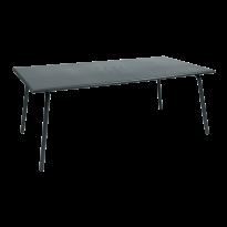 TABLE MONCEAU 194X94X74 GRIS ORAGE de FERMOB