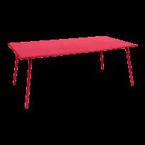 TABLE MONCEAU 194X94X74 ROSE PRALINE de FERMOB