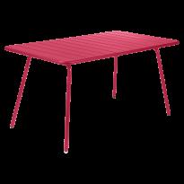TABLE LUXEMBOURG 165X100CM ROSE PRALINE de FERMOB