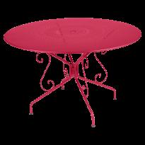 TABLE MONTMARTRE 117CM ROSE PRALINE de FERMOB