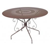 TABLE MONTMARTRE 117CM ROUILLE de FERMOB