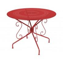 TABLE MONTMARTRE, 2 tailles, 24 couleurs de FERMOB
