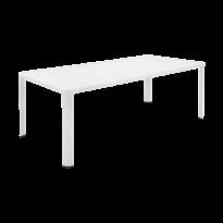 Table  OLÉRON de Fermob, Blanc coton
