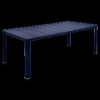 Table  OLÉRON de Fermob, Bleu abysse