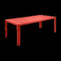 Table  OLÉRON de Fermob, Capucine