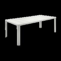 Table  OLÉRON de Fermob, Gris métal