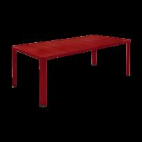 Table  OLÉRON de Fermob, Piment