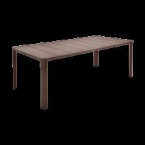 Table  OLÉRON de Fermob, Rouille