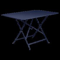 TABLE PLIANTE BISTRO 117 X 77CM BLEU ABYSSE de FERMOB