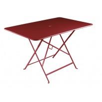 TABLE BISTRO 117X77 CM, Ocre rouge de FERMOB