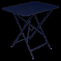 TABLE PLIANTE BISTRO 77 X 57CM BLEU ABYSSE de FERMOB