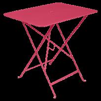 TABLE PLIANTE BISTRO 77 X 57CM ROSE PRALINE de FERMOB
