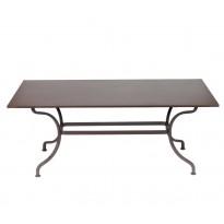 TABLE ROMANE 180CM, 24 couleurs de FERMOB