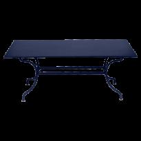 Table ROMANE 180 cm de Fermob, Bleu abysse
