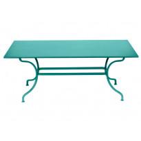 TABLE ROMANE 180CM, Bleu lagune de FERMOB