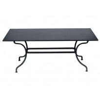 TABLE ROMANE 180CM, Carbone de FERMOB