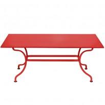 TABLE ROMANE 180CM, Coquelicot de FERMOB