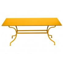 TABLE ROMANE 180CM, Miel de FERMOB