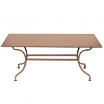 TABLE ROMANE 180CM, Muscade de FERMOB