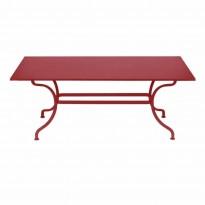 TABLE ROMANE 180CM, Piment de FERMOB