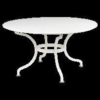 Table ronde D.137 ROMANE de Fermob, Blanc