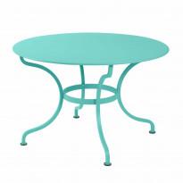 Table ronde D.137 ROMANE de Fermob, Bleu lagune