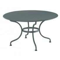 Table ronde D.137 ROMANE de Fermob, Gris orage