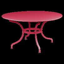 Table ronde D.137 ROMANE de Fermob, Rose praline