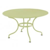 Table ronde D.137 ROMANE de Fermob, Tilleul