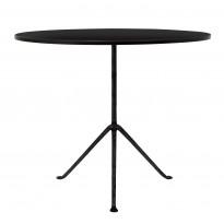 TABLE RONDE OFFICINA, Noir de MAGIS