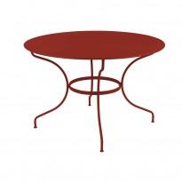 Table ronde OPÉRA D.96 ou D.117 cm de Fermob, 22 coloris