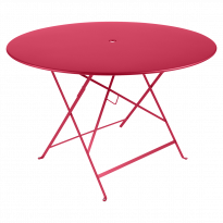 TABLE PLIANTE BISTRO 117CM ROSE PRALINE de FERMOB