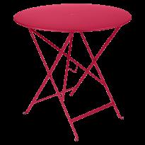 TABLE PLIANTE BISTRO 77CM ROSE PRALINE de FERMOB