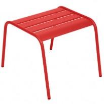 TABLE BASSE REPOSE PIED MONCEAU COQUELICOT de FERMOB