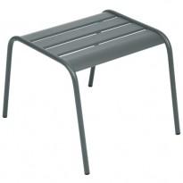 TABLE BASSE REPOSE PIED MONCEAU GRIS ORAGE de FERMOB