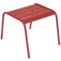TABLE BASSE REPOSE PIED MONCEAU PIMENT de FERMOB