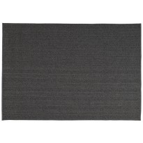 TAPIS TORSADE DE TOULEMONDE BOCHART, 170 X 240 CM, ANTHRACITE