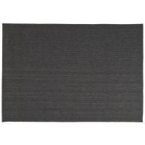 TAPIS TORSADE DE TOULEMONDE BOCHART, 250 X 350 CM, ANTHRACITE