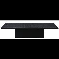 TABLE BASSE ANCESTORS TABWA BLOCK, Noir d