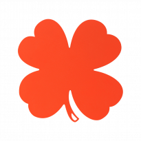 DESSOUS DE PLAT TRÈFLE, 4 coloris de FERMOB