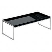 TABLE BASSE TRAYS 80 X 40 CM DE KARTELL, NOIR
